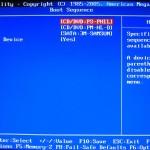 BIOS загрузка с DVD