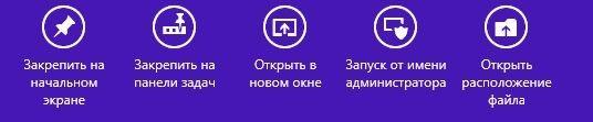 Дополнительная панель Windows 8